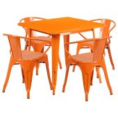 Bàn ghế ăn mã 02