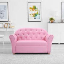Sofa cho phòng bé gái màu hồng đơn chiếc mã 20