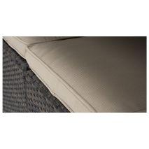 Bộ bàn ghế sofa mây bọc nệm vải ngoài trời mã 13