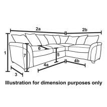 Mẫu sofa bọc vải nỉ kiểu rút cúc tân cổ điển mã 40