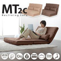 Sofa gấp ngồi bệt kiểu nhật bọc vải nỉ đa năng mã 16