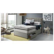 Giường ngủ bọc vải với ngăn kéo đựng đồ mã 07