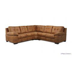 Mẫu ghế sofa da bò đẹp mã 07