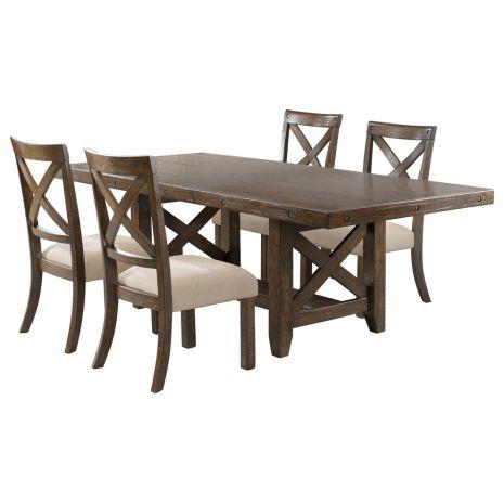 Bàn ghế ăn mã 01