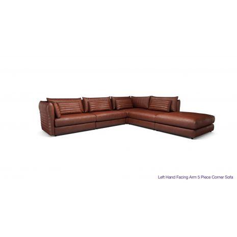 Ghế sofa da phòng khách góc l đẹp mã 10