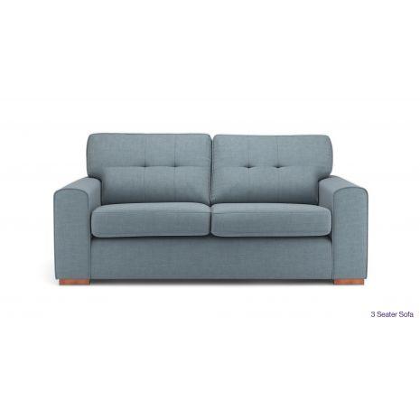 Mẫu ghế sofa văng vải nỉ 3 chỗ mã 08