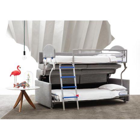 Mẫu ghế sofa khung sắt thông minh kết hợp thành giường ngủ 2 tầng mã SMART01