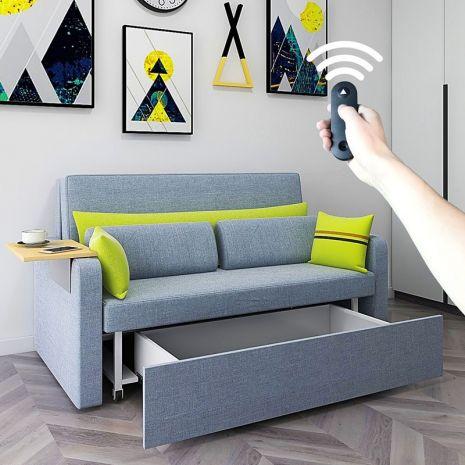 Sofa nhỏ thông minh bọc vải dài 1m9 mã smartsofa